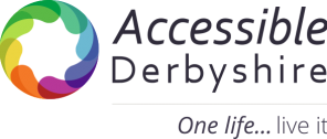 accessible derbyshire logo