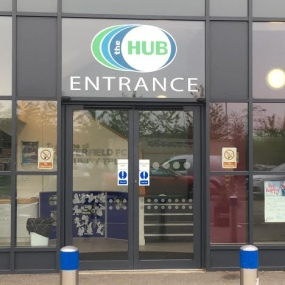 cfc3 - Hub Entrance (at rear of stadium)