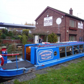 John Varley at Tapton Lock