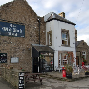 The Old Hall Pub Front