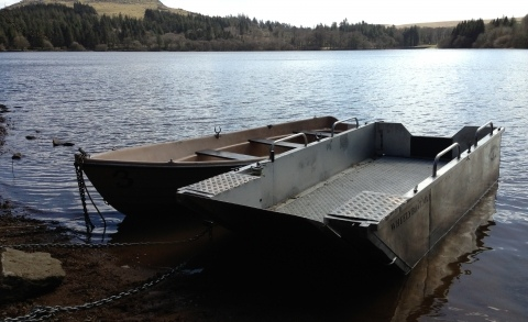 Wheelyboat at Burrator 2