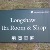 Longshaw Tea Room Sign