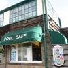 Pool Cafe Sign