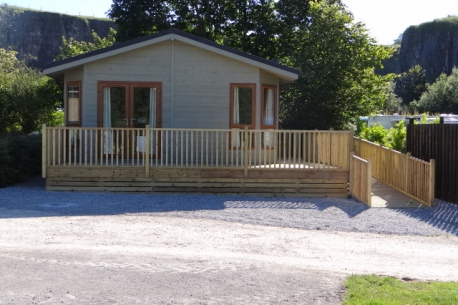 3 bed lodge exterior